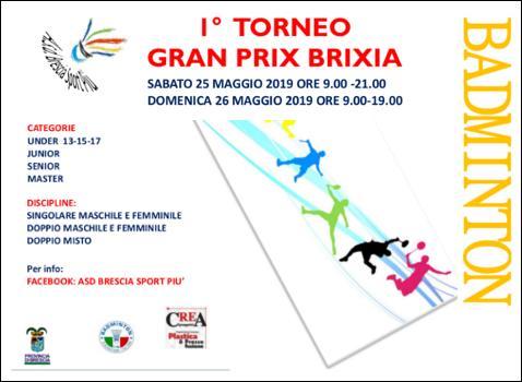Torneo Gran Prix Brixia di Badminton