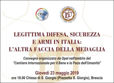 Legittima difesa, sicurezza e armi in Italia: l'altra faccia della medaglia