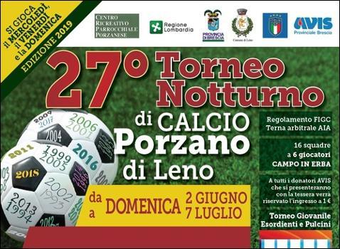 Torneo Notturno di Calcio Porzano di Leno