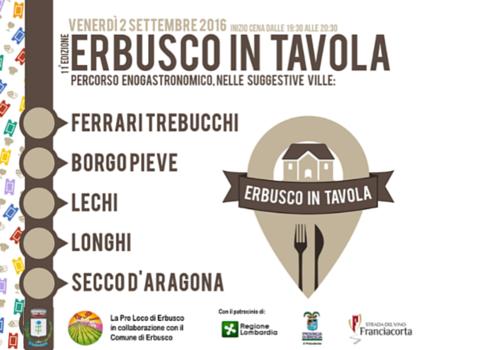 Erbusco in Tavola - 11° edizione