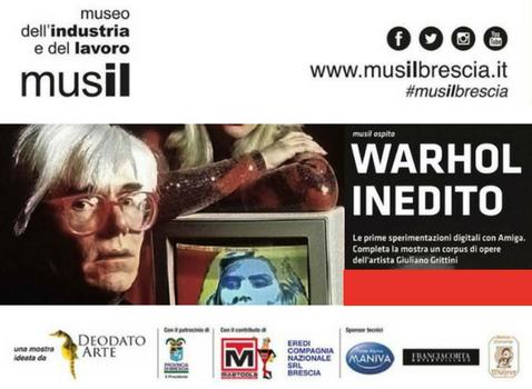 Andy Warhol inedito