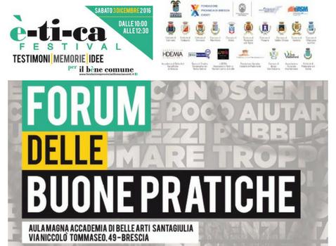 EticaFestival - Forum Buone Pratiche