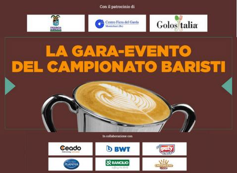 Campionato italiano baristi caffetteria – Finali bresciane