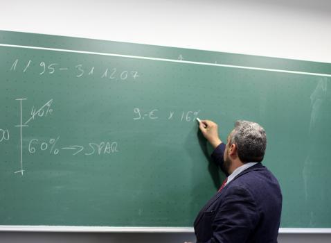 Affluenza del personale precario delle scuole presso i Centri per l'Impiego