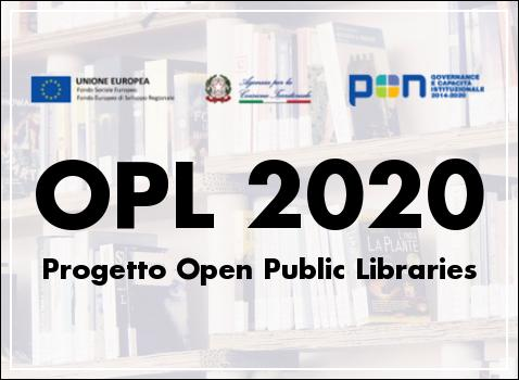 Progetto Open Public Libraries OPL 2020