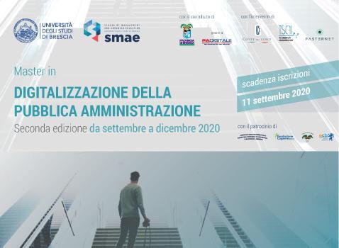 Master Digitalizzazione della Pubblica Amministrazione