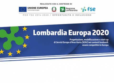 """Secondo Webinar """"Reti e partnership europee"""" nell'ambito del progetto Lombardia Europa 2020"""