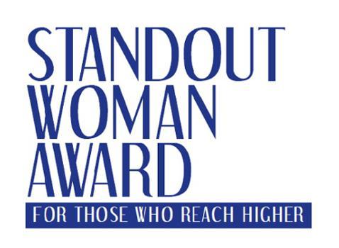"Premio Internazionale ""Standout Woman Award"" 2016"
