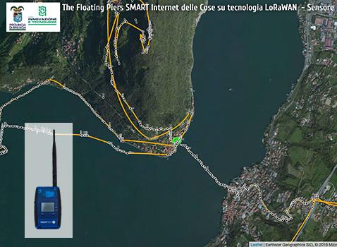"Report Finale ""The Floating Piers Smart"": sperimentazione su tecnologia LoRaWAN"