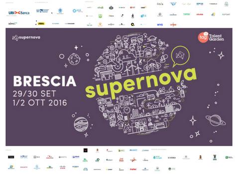 La Provincia di Brescia a Supernova Creative Innovation Festival